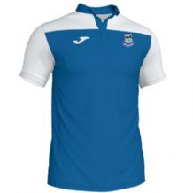 Crumlin United FC Joma Crewe III Polo Royal/White Adult 2019